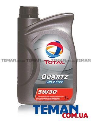 Синтетическое моторное масло TOTAL QUARTZ INEO MC3 5W-30, 1л