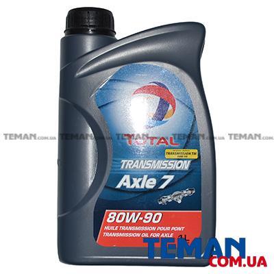 Минеральное трансмиссионное масло TOTAL TRANSMISSION AXLE 7 80W90, 1л
