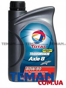 Трансмиссионное масло TOTAL TRANSMISSION AXLE 8 80W-90, 1л