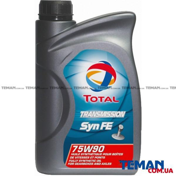 Синтетическое трансмиссионное масло TRANSMISSION SYN FE 75W-90, 1л
