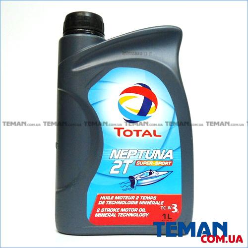 Минеральное масло для 2Т двигателей NEPTUNA 2T SUPER SPORT, 1л