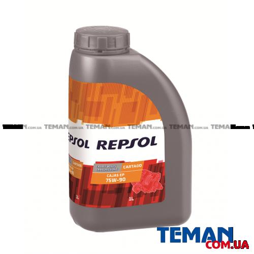 Синтетическое трансмиссионное масло CARTAGO CAJAS EP 75W90, 1л