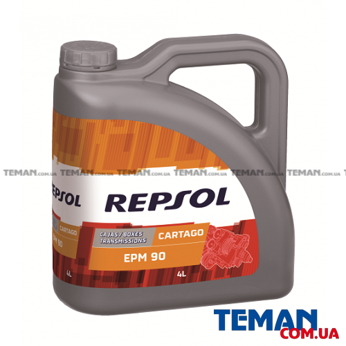Минеральное трансмиссионное масло REPSOL CARTAGO EPM 90, 4л