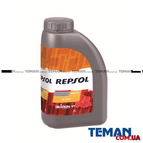 Синтетическое трансмиссионное масло REPSOL Matic VI ATF, 1л