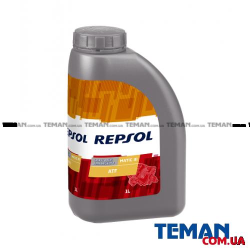 Синтетическое трансмиссионное масло REPSOL Matic III, 1л