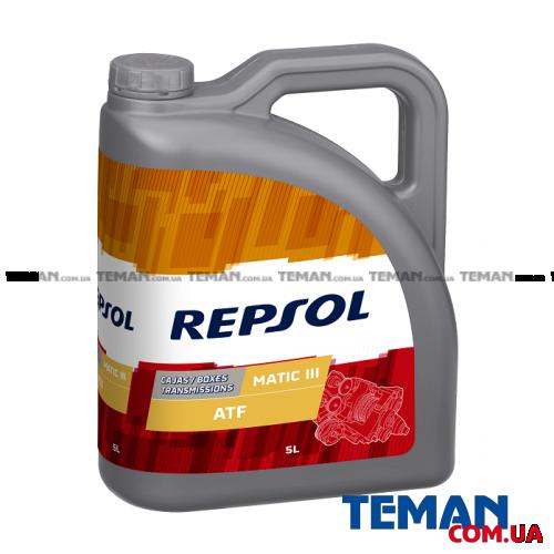 Синтетическое трансмиссионное масло REPSOL Matic III, 5л