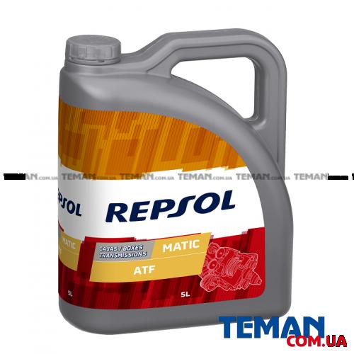 Минеральное трансмиссионное масло REPSOL Matic ATF, 5л