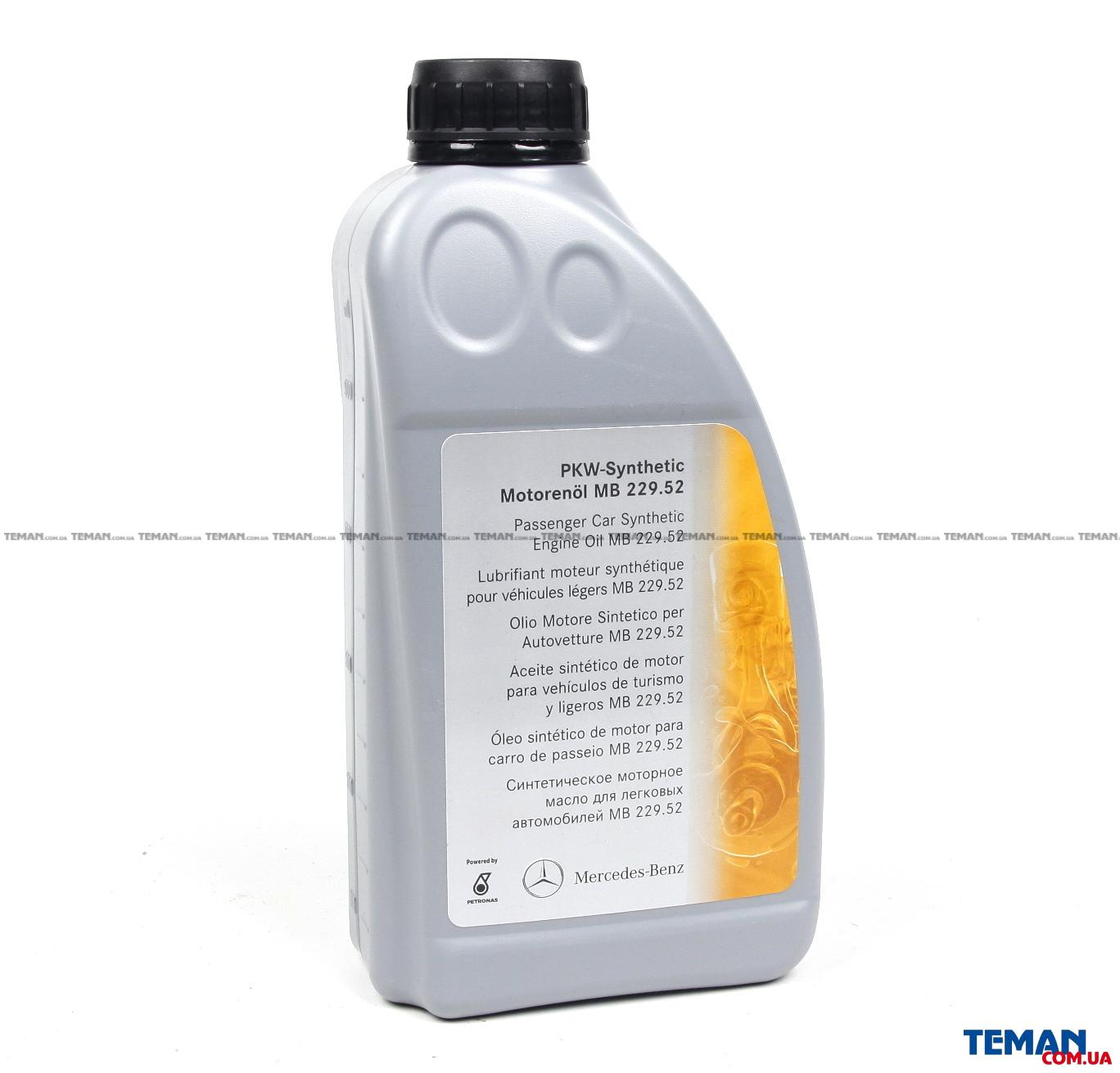 Масло 5W30 PKW-Synthetic (1L)  (MB229.52) (0019893701BAA6)