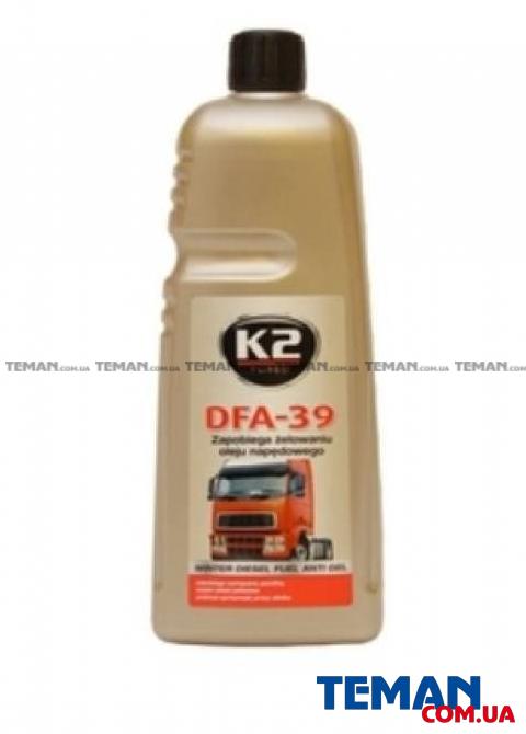 Добавка-антигель для дизельного топлива K2 TURBO DFA-39 DIESEL 1л