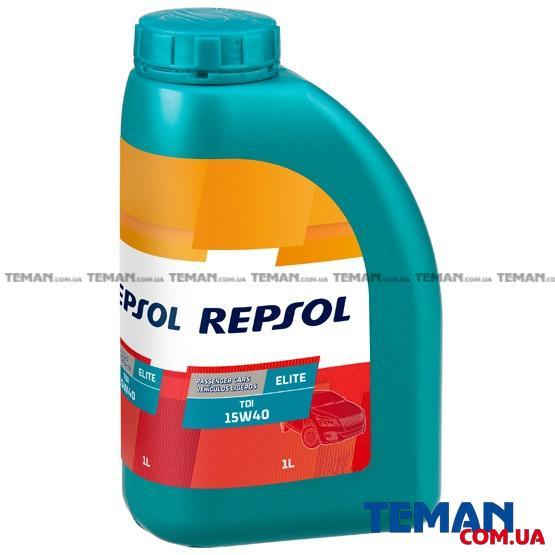 Минеральное моторное масло Repsol Elite TDI 15w-40, 1л