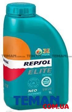 Синтетическое моторное масло Repsol ELITE NEO 5W20, 1л