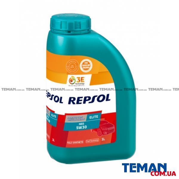Синтетическое моторное масло Repsol Elite Neo 5w-30, 1л