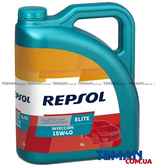 Минеральное моторное масло REPSOL ELITE INYECCION 15W40, 5л
