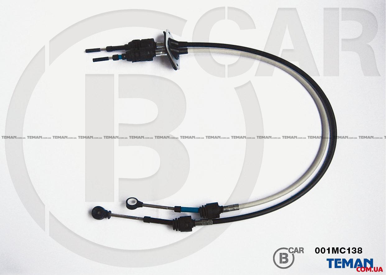 Купить Трос привода коробки передачB car parts 001mc138