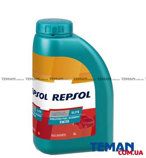 Синтетическое моторное масло REPSOL ELITE EVOLUTION FUEL ECONOMY 5W-30, 1л