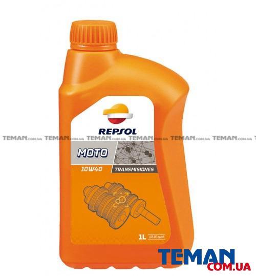 Трансмиссионное масло REPSOL MOTO TRANSMISIONES 10W40, 1л