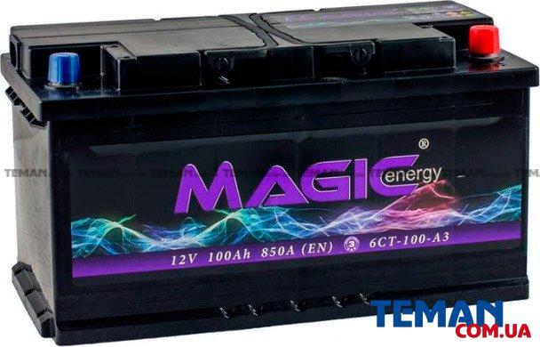 100 Ah 12V Euro (0) MAGIС ENERGY