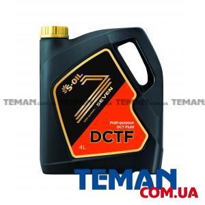 Трансмиссионное масло S-OIL 7 DCTF, 4л