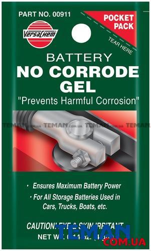 Антикоррозийный гель для аккумуляторных клемм BATTERY NO-CORRODE GEL 4g