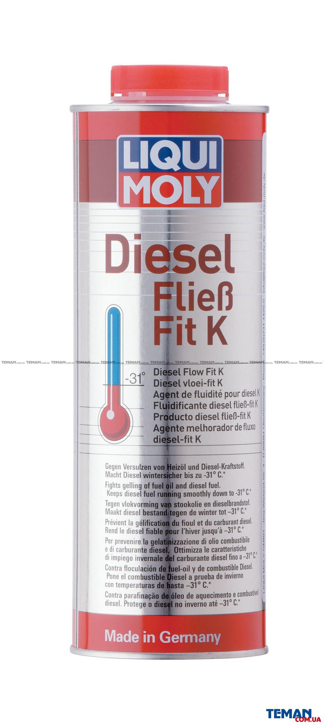 Дизельный антигель концентрат Diesel Fliess-Fit K, 1л