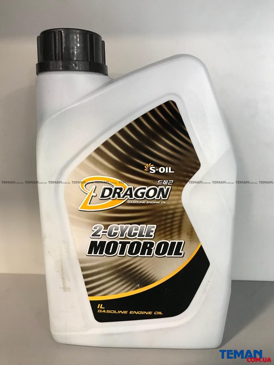 Масло для двухтактных  двигателей Dragon 2T 20 MotorOil , 1 л