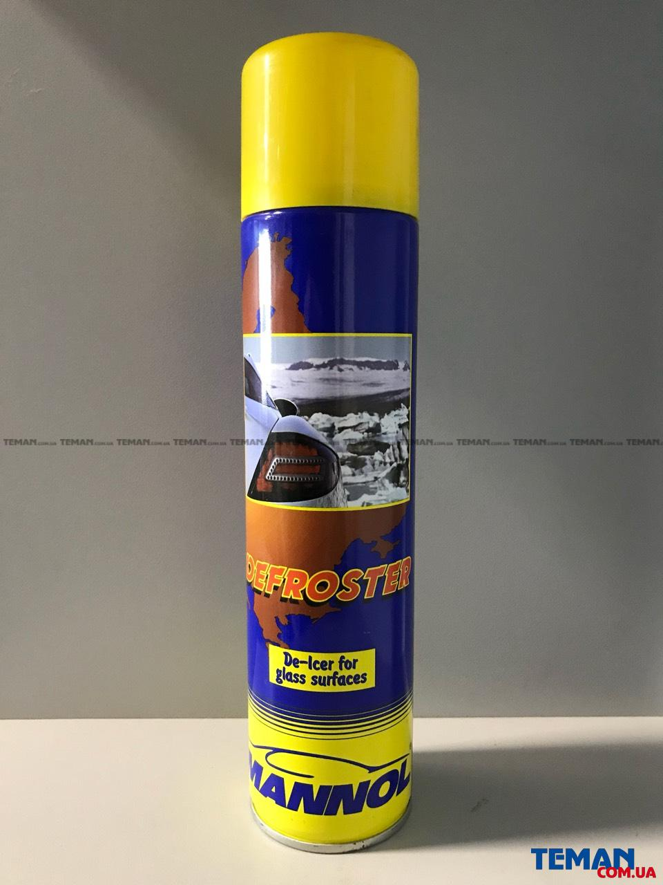Антилёд MANNOL Defroster 9908 (450 мл)