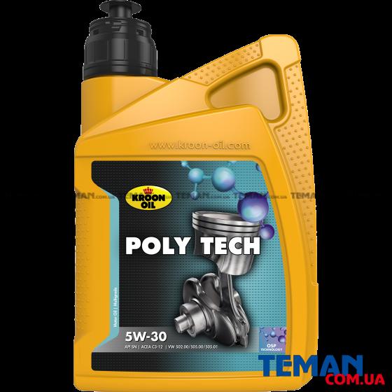 Олива моторна POLY TECH 5W-30 1л